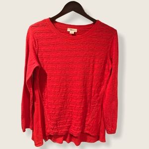 STYLE & CO. Mixed Media Lightweight Sweater